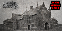 Hartlepool town hall theatre ghost hunting events